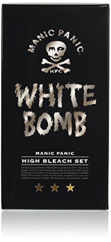 散文起こる許容できるマニックパニック ホワイトボム ハイブリーチセット (ブリーチパウダー30g+オキシ6%90ml)(医薬部外品)