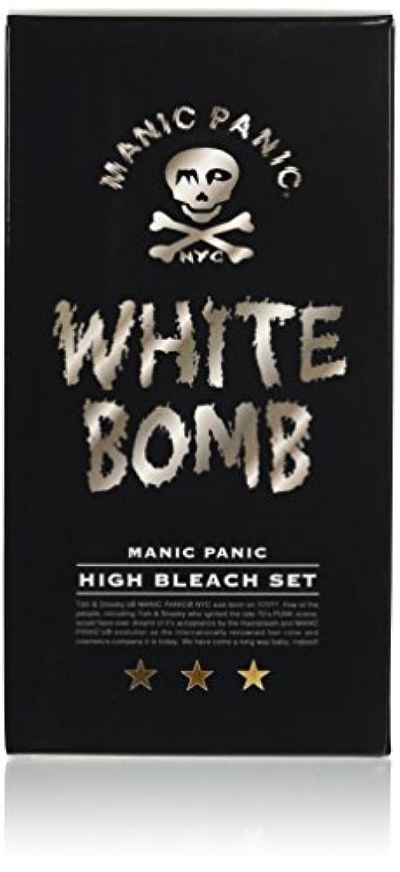 招待強います内訳マニックパニック ホワイトボム ハイブリーチセット (ブリーチパウダー30g+オキシ6%90ml)(医薬部外品)