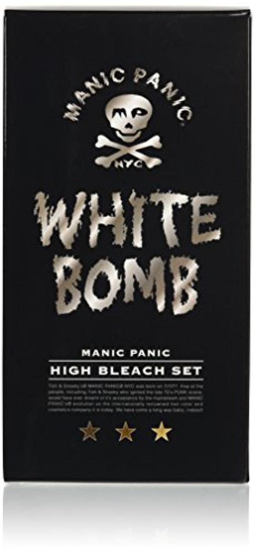 機転結び目付録マニックパニック ホワイトボム ハイブリーチセット (ブリーチパウダー30g+オキシ6%90ml)(医薬部外品)