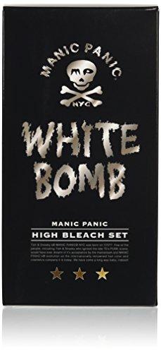 マニックパニック ホワイトボム ハイブリーチセット (ブリーチパウダー30g+オキシ6%90mL)(医薬部外品)