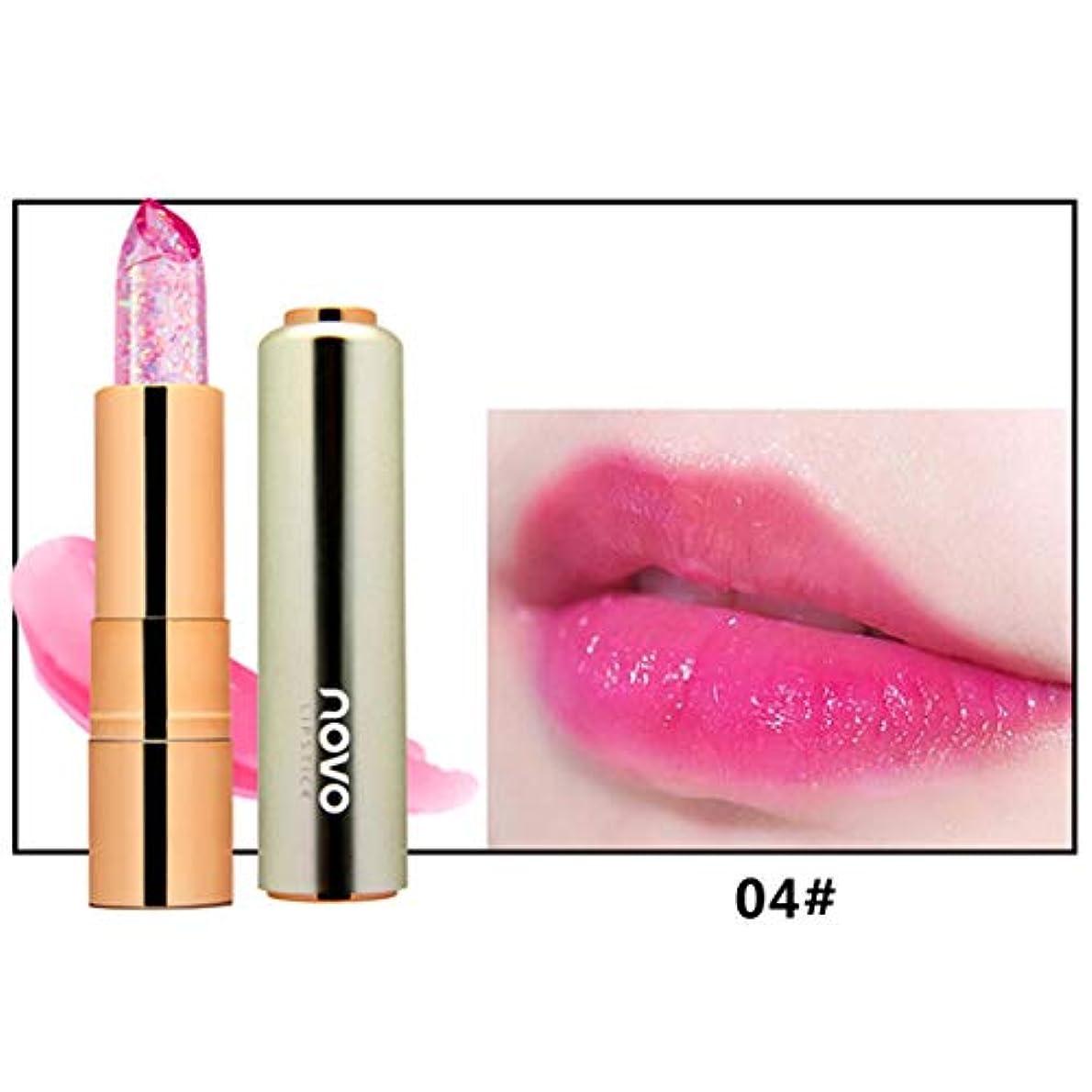 ポルティコ添加カートリッジKimyuo 新しい到着化粧口紅保湿剤透明マジック温度花の色長持ちリップスティックリップ