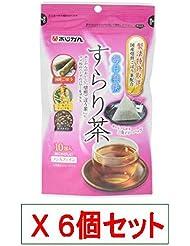 日清商事 あじかん 毎日爽快すらり茶 2gx10包 X6個セット