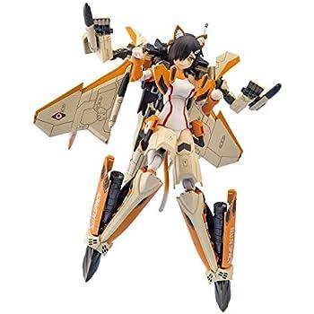 青島文化教材社 VFG マクロスデルタ VF-31D スクルド 全高約155mm 色分け済みプラモデル MC-05