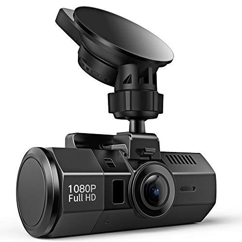 ドライブレコーダー Crosstour 車載 カメラ 1080P Full HD 1200万画素 SONY センサー/レンズ HDR 衝撃録画 高速起動 動き検知 常時録画