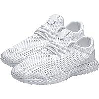 AUCDK Men Lightweight Mesh Sneaker Ultralight Casual Sports Shoes Man Breathable Trainer