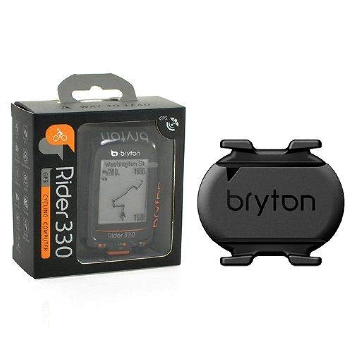 必要ない合理化楽しませるBryton Rider 330C GPS ANT+/ BLE Cycling Computer/Cadence Sensor & Bike Mount #TB2771-self