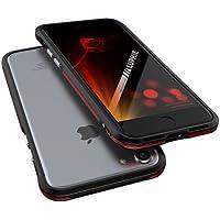 【luphie-bumper】iPhone7 PLUS (5.5inch) ケース / iphone7PLUSケース / iphone 7 PLUS ケース / バンパー ケース / バンパー カバー / スマホケース / スマホーカバー / アイフォン7プラスケース / アイフォン7プラス カバー / 超軽量 / 衝撃吸収 / 耐衝撃 / 航空用アルミニウム ケース / 2層構造 フルカバー スマホケース / (マルチレッド)