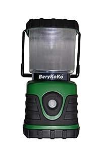 BeryKoko 1年保証 高輝度・長時間発光 600ルーメン LEDランタン 125時間点灯 Berykoko-0226 グリーン