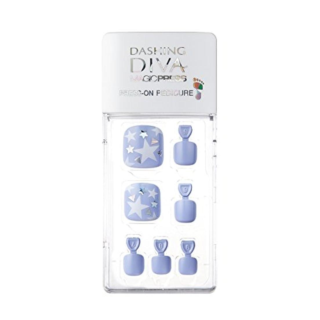 始まりアイスクリーム部分的ダッシングディバ マジックプレス DASHING DIVA MagicPress MDR187P-DURY+ オリジナルジェル ネイルチップ