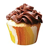 Standard Baking Cups 32/Pkg-Orange Swirls
