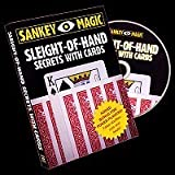 ◆手品?マジック◆Sleight Of Hand Secrets With Cards by Jay Sankey◆SM429