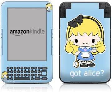 Amazon Kindle3用スキンシール【Got Alice】