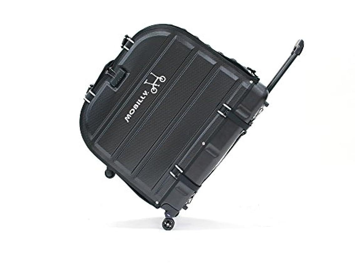 インサート増強孤独なVélo Line(ベロライン) MOBILLY TPU樹脂 折りたためるサイクルキャリーケース 特許申請中 14インチサイズ対応 LIGHTシリーズに最適 しなやかな弾力性と強靭さを合わせ持つTPU樹脂を使用したコンパクトでスタイリッシュなサイクルキャリーケース 耐荷重約40kg 86937-0099