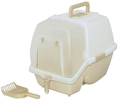 アイリスオーヤマ 掃除のしやすいネコトイレ SSN-530 ミルキーブラウン