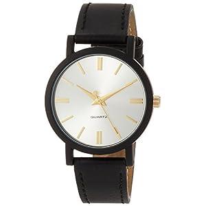 [フィールドワーク]Fieldwork 腕時計 ファッションウォッチ フレディー アナログ 革ベルト L シルバー DT135-1 レディース