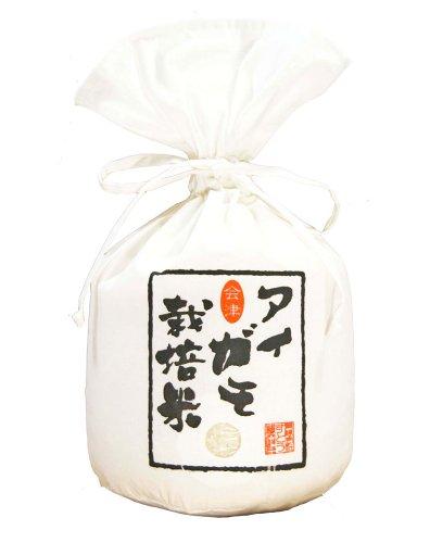 【無農薬】29年産会津産アイガモ栽培米玄米5�s(放射性物質検査済み。1?不検出。検査機関は理研分析センター) (1袋)