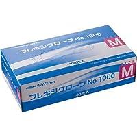 共和 プラスチック手袋 粉付 No.1000 M 10箱