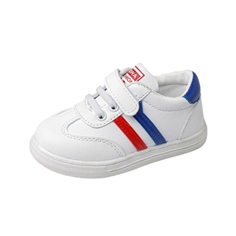 CoperファッションBaby Boys Girls Sport Running Shoesレザースニーカー