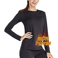 MANCYFIT Thermal Underwear for Women Long Johns Set Fleece Lined Ultra Soft