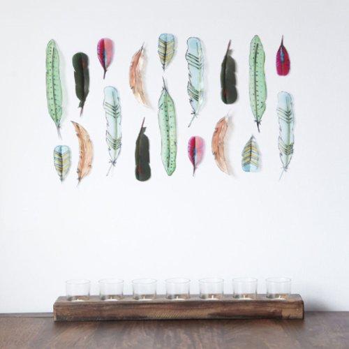 RoomClip商品情報 - アンブラ umbra フェザー ウォールデコ 18P Feather Wall Decor 2470343-022