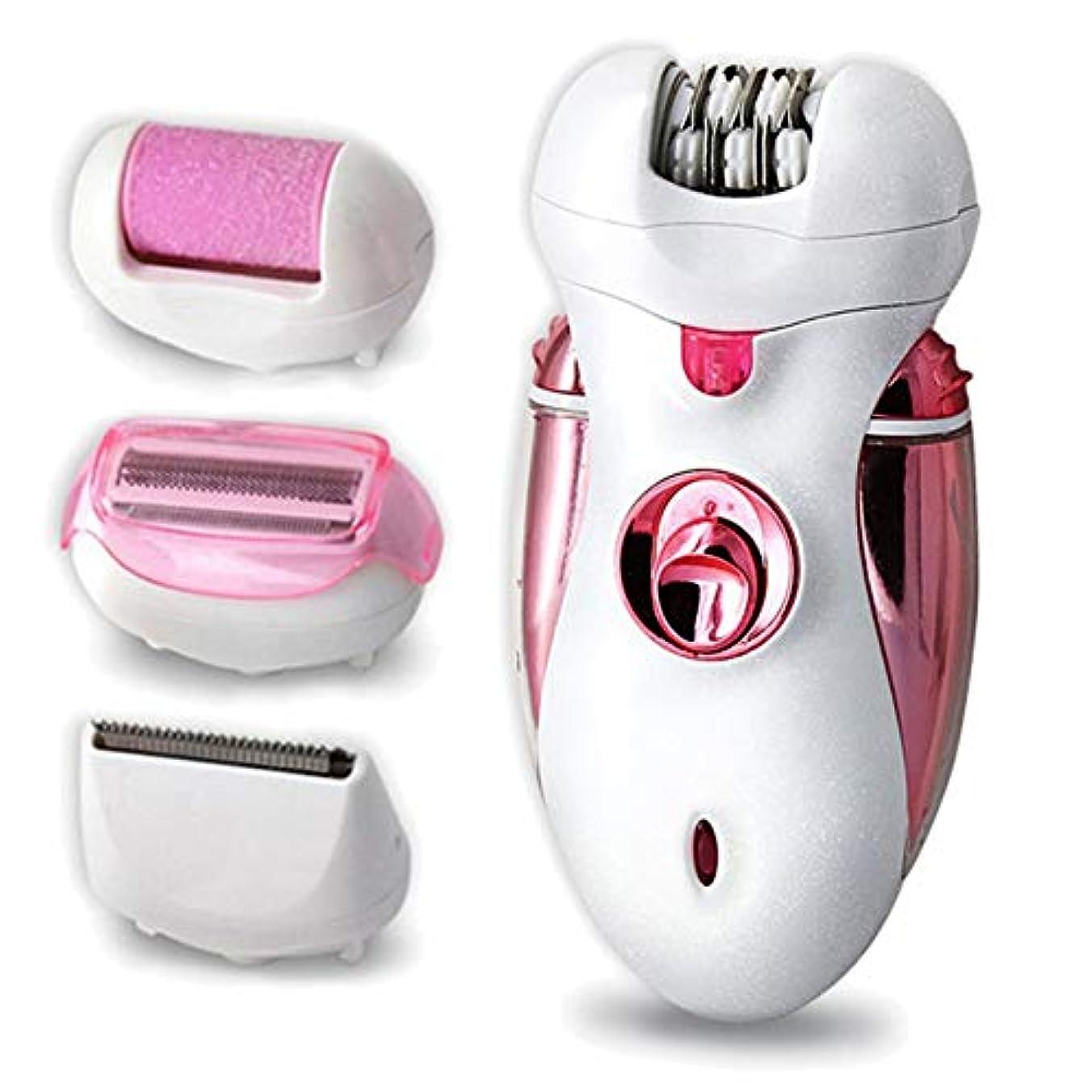 認可人事火女性用脱毛器、乾湿脱毛器、コードレス脱毛器および4つのエキストラ、LEDインジケータ、電気,A