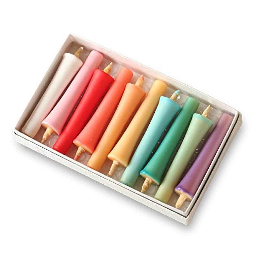 ドールお風呂を持っている教室大與 和ろうそく 色ろうそく 十色 Toiro