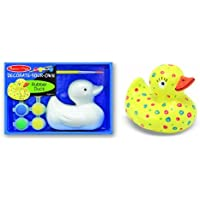 Melissa & Doug Decorate-Your-Own Rubber Duck Craft Kit [並行輸入品]