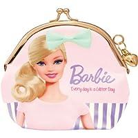 バービー Barbie サテンガマグチ ライトピンク10102【がま口 がまぐち 小銭入れ コインケース キャラクター かわいい】