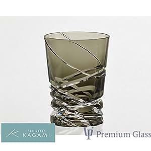 カガミクリスタル ロックグラス (T3252-2817-BLK)
