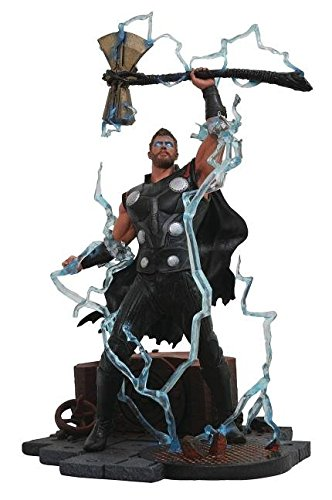 Diamond Select Toys Marvelギャラリー: Avengers infinity War Movie Thor PVC Diorama Figure