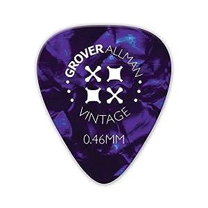 Grover Allman 【グローバーオールマン】 Vintage Celluloid, Purple, 0.46mm 10枚