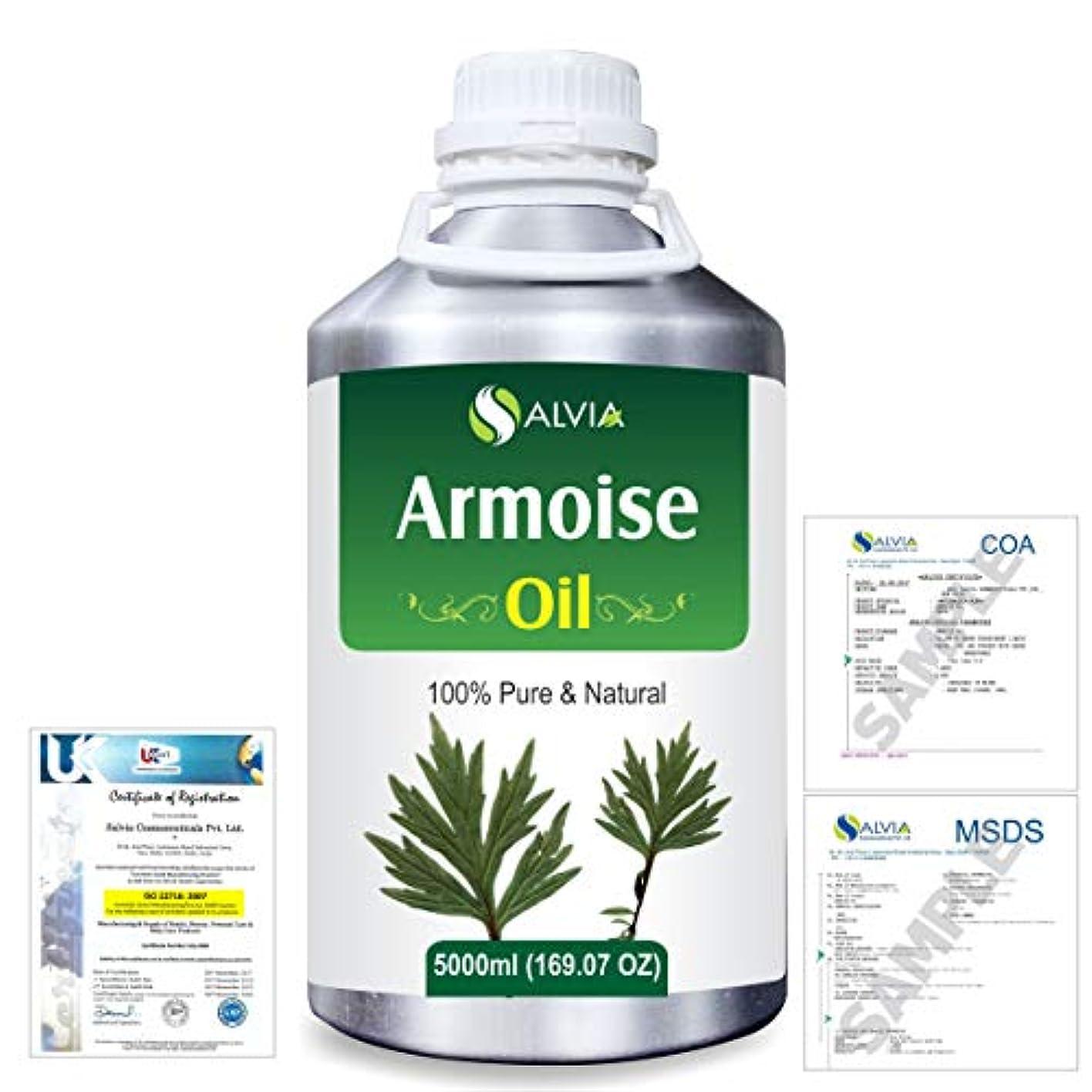 消去後ろに天才Armoise (Artimisia alba) 100% Natural Pure Essential Oil 5000ml/169fl.oz.