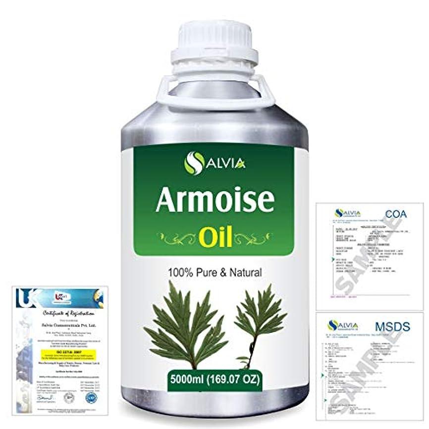 法律によりアリーナガラガラArmoise (Artimisia alba) 100% Natural Pure Essential Oil 5000ml/169fl.oz.