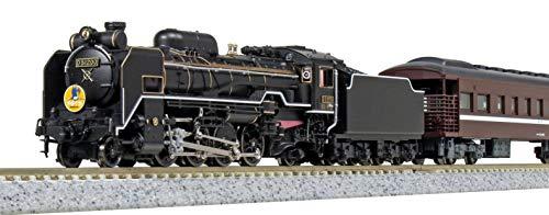 カトー D51 200+35系〈SL「やまぐち」号〉 6両セット (特別...