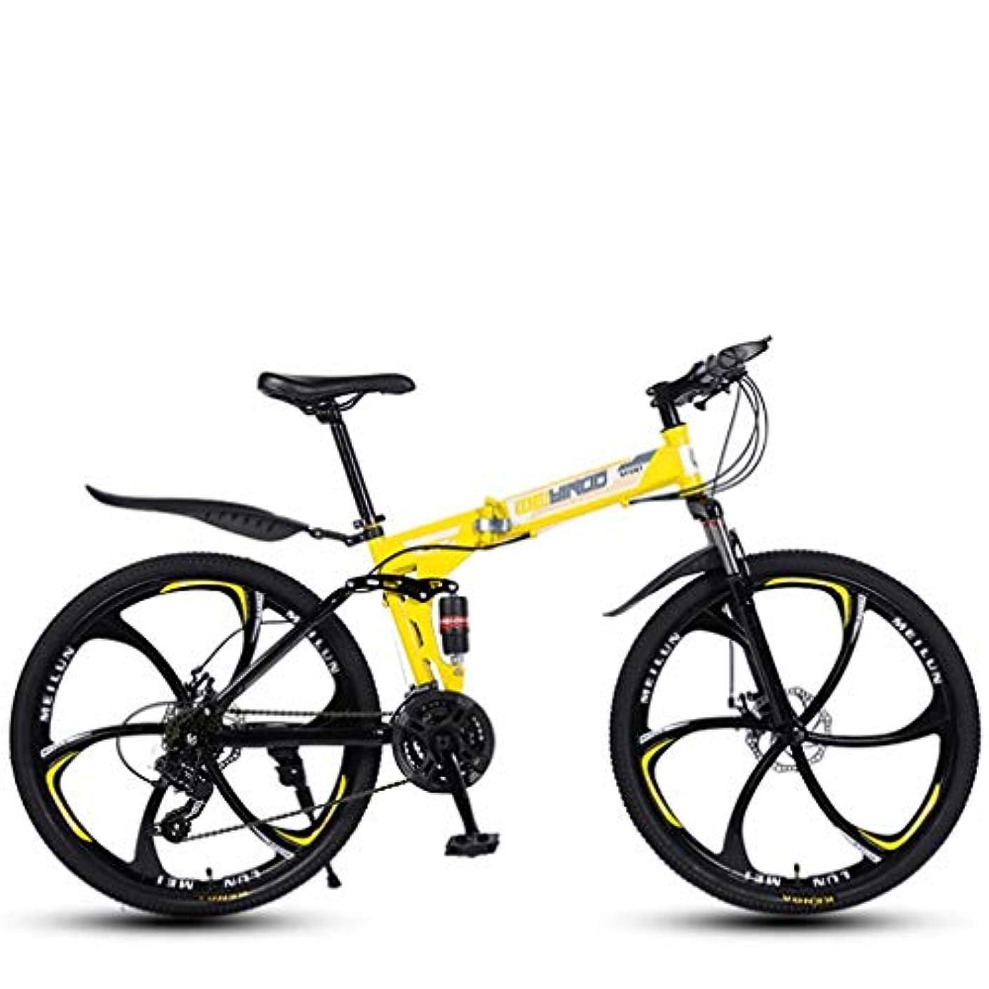 失敗哲学的大惨事26インチマウンテンバイク、ダブルディスクブレーキ/高炭素鋼フレームバイク、ビーチスノーモービル自転車、アルミ合金ホイール、ブラック、21スピード