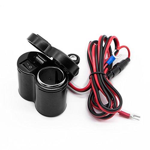 バイク用 USB 充電器 5V/1.5A 急速充電 100W...