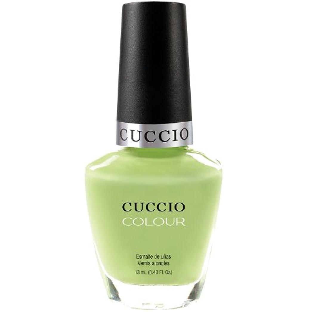 泣き叫ぶ不忠著作権Cuccio Colour Gloss Lacquer - In the Key of Lime - 0.43oz / 13ml
