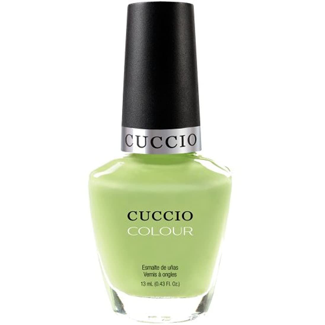 センター運河理想的にはCuccio Colour Gloss Lacquer - In the Key of Lime - 0.43oz / 13ml