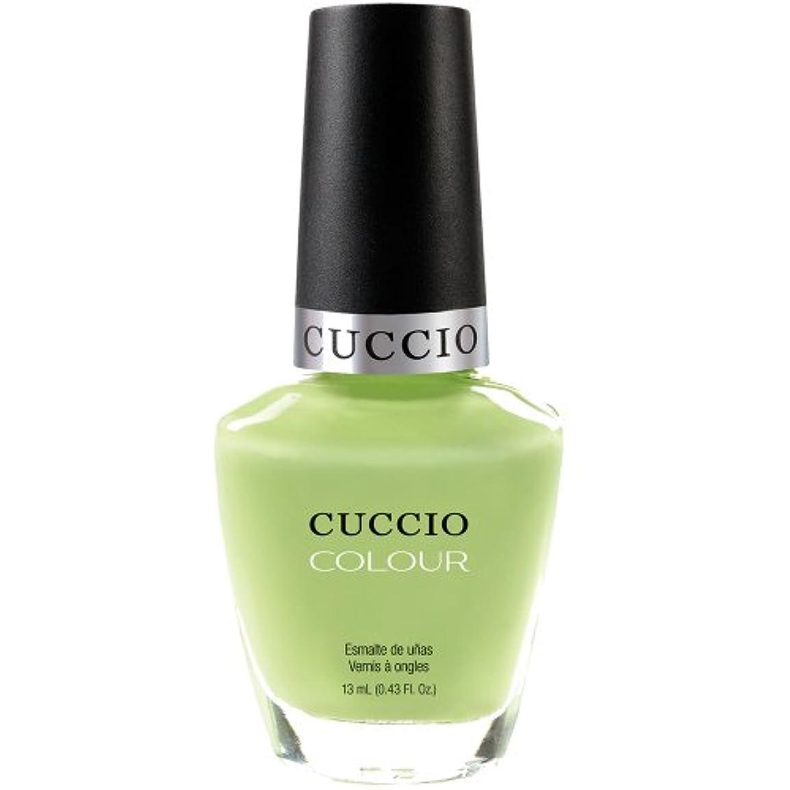 回答しなやかなフォームCuccio Colour Gloss Lacquer - In the Key of Lime - 0.43oz / 13ml