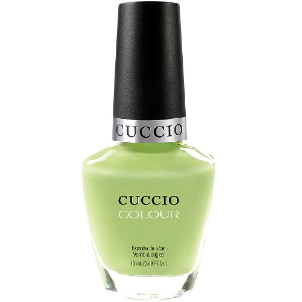 作詞家カフェテリア挨拶するCuccio Colour Gloss Lacquer - In the Key of Lime - 0.43oz / 13ml