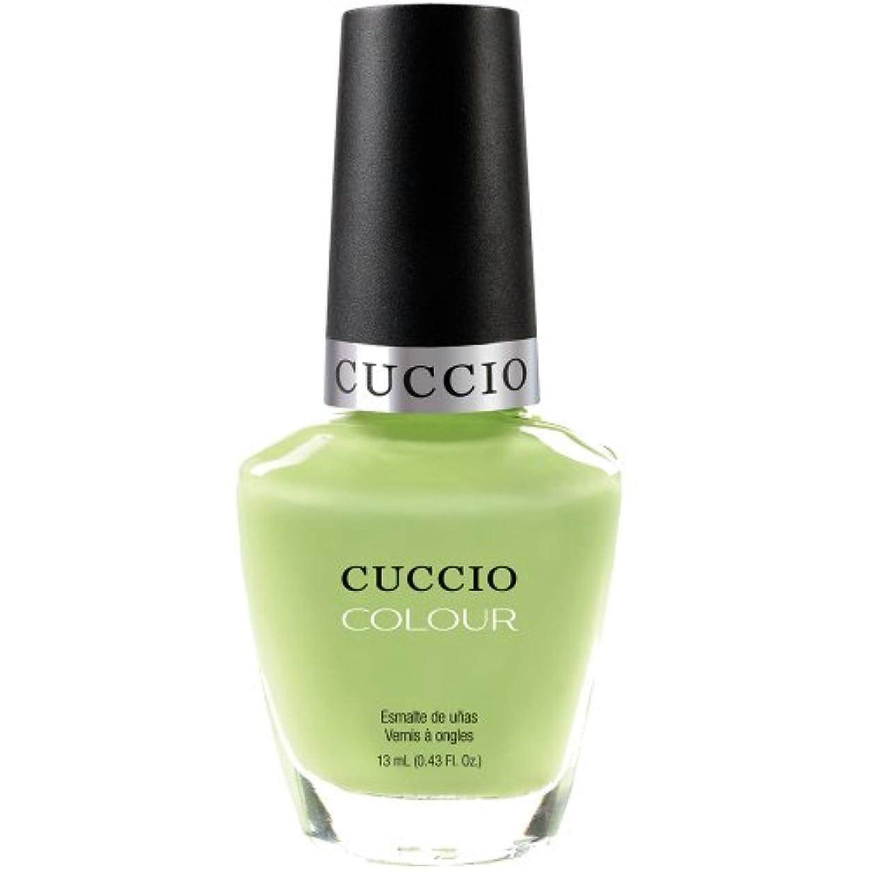 モトリー作者雑多なCuccio Colour Gloss Lacquer - In the Key of Lime - 0.43oz / 13ml