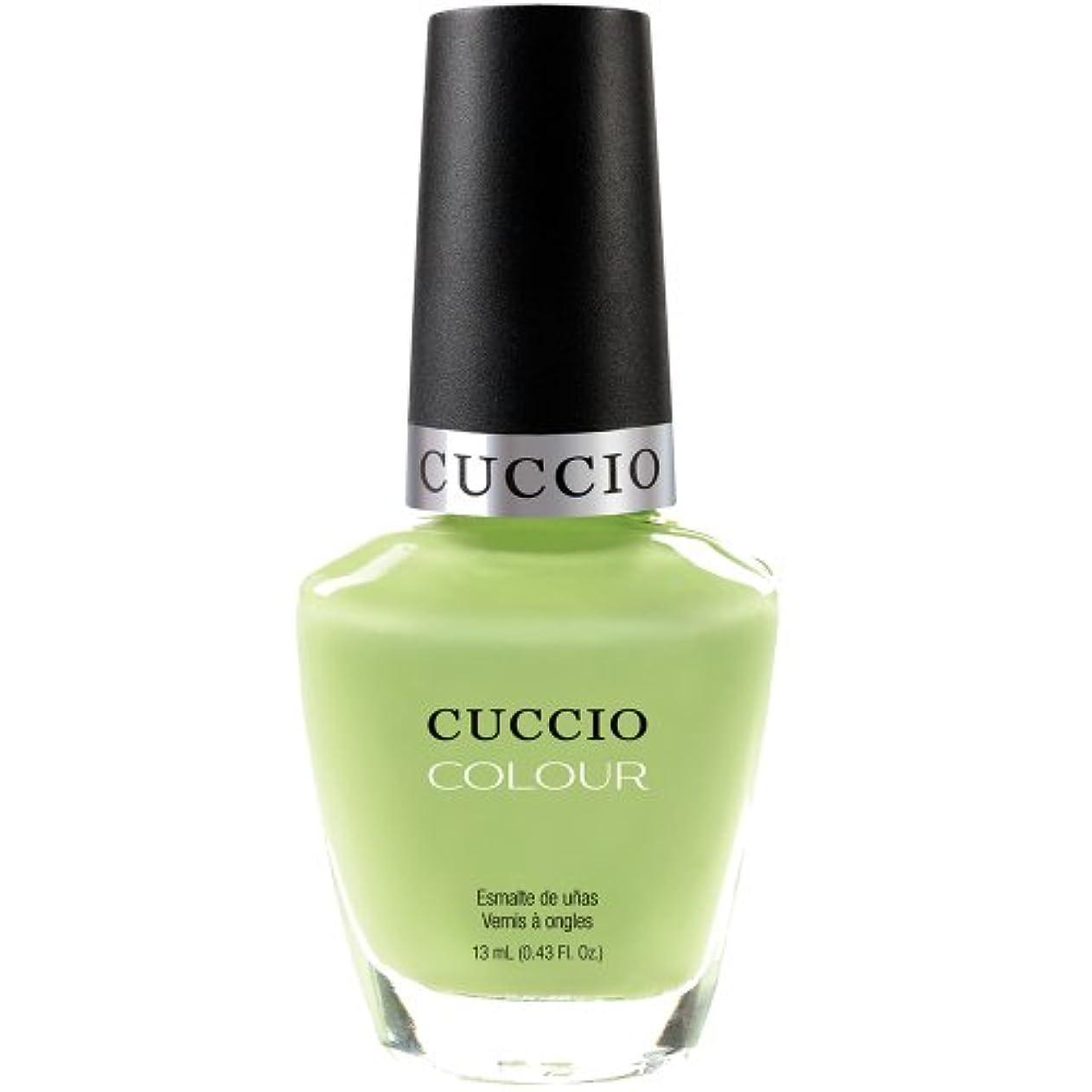 消毒する石のユーモラスCuccio Colour Gloss Lacquer - In the Key of Lime - 0.43oz / 13ml