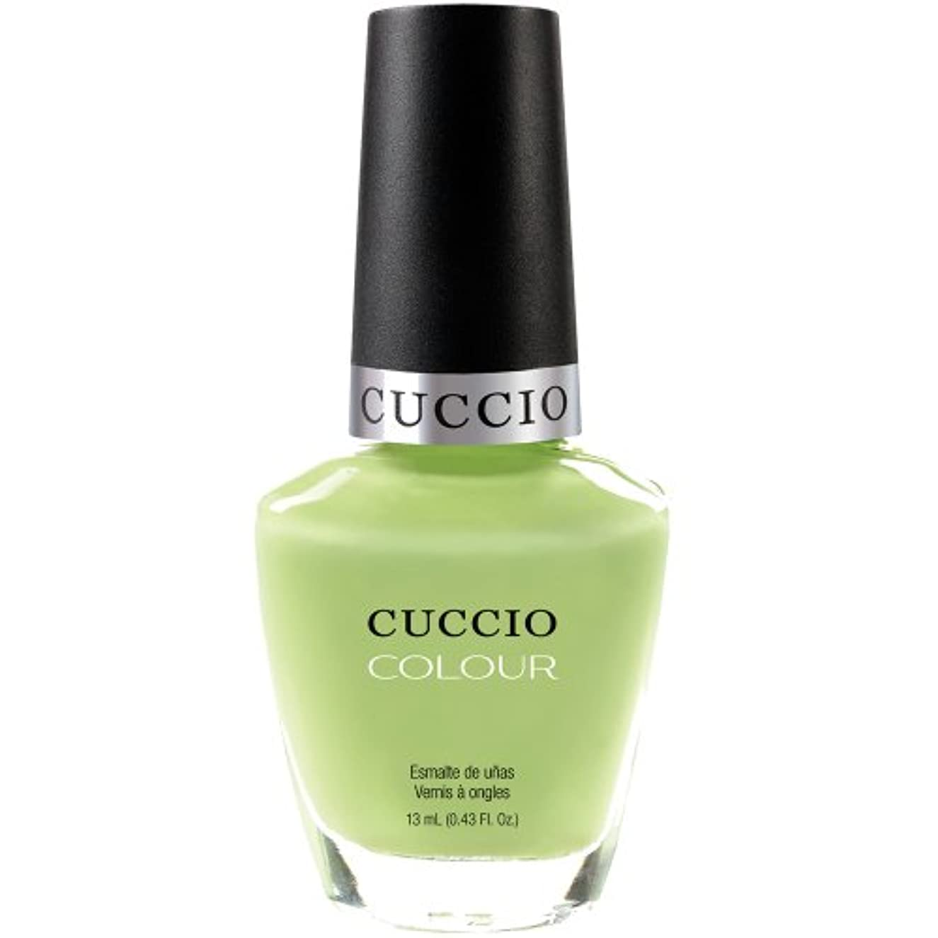 危険ジャンクくぼみCuccio Colour Gloss Lacquer - In the Key of Lime - 0.43oz / 13ml