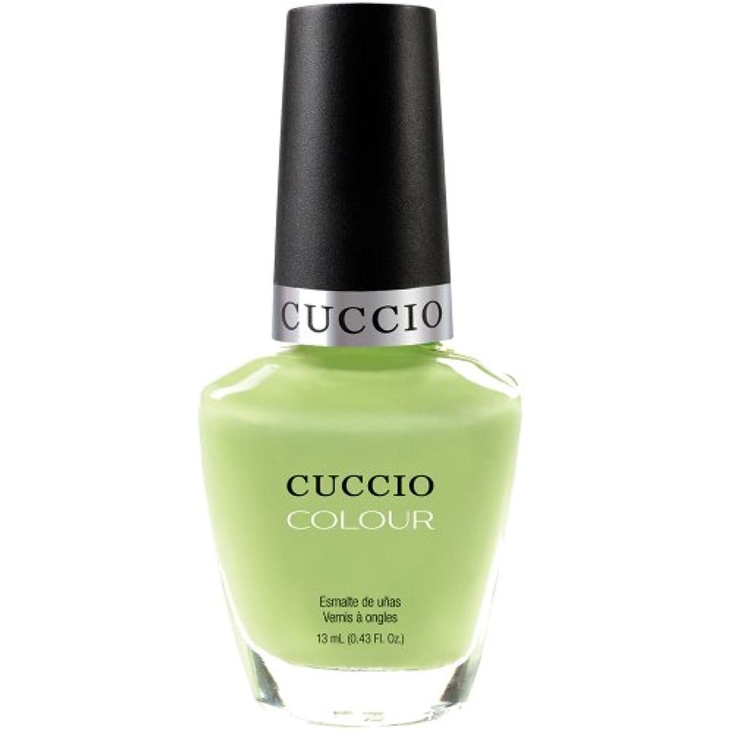 災害陪審Cuccio Colour Gloss Lacquer - In the Key of Lime - 0.43oz / 13ml
