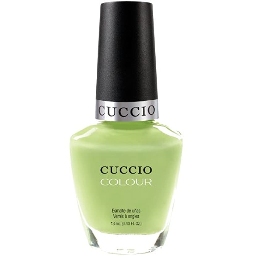 不実リー水陸両用Cuccio Colour Gloss Lacquer - In the Key of Lime - 0.43oz / 13ml