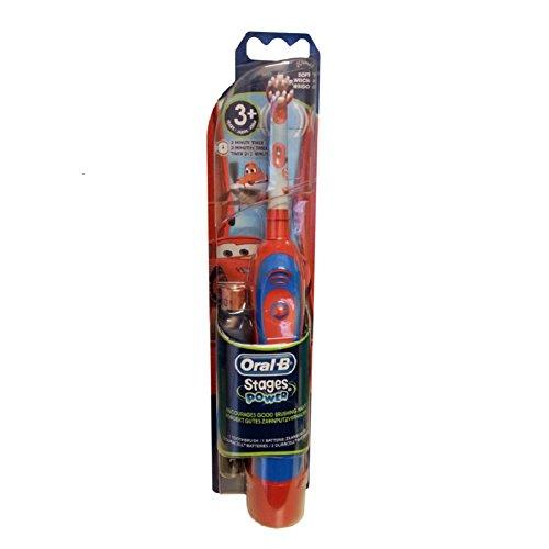 ブラウンオーラルBアドバンスパワーステージディズニーバッテリー歯ブラシディズニー3+ (ディズニーカー)