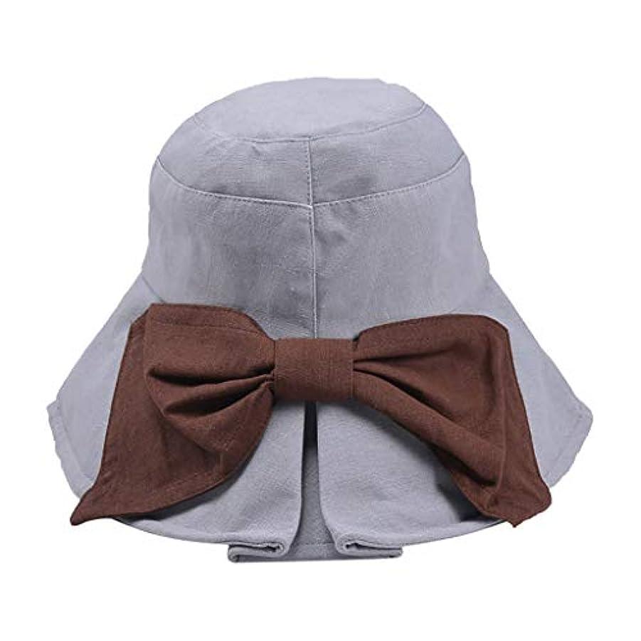 発言する郵便物南東帽子 ハット 女性カジュアル固体つば広フロッピー折りたたみ式ビーチ帽子