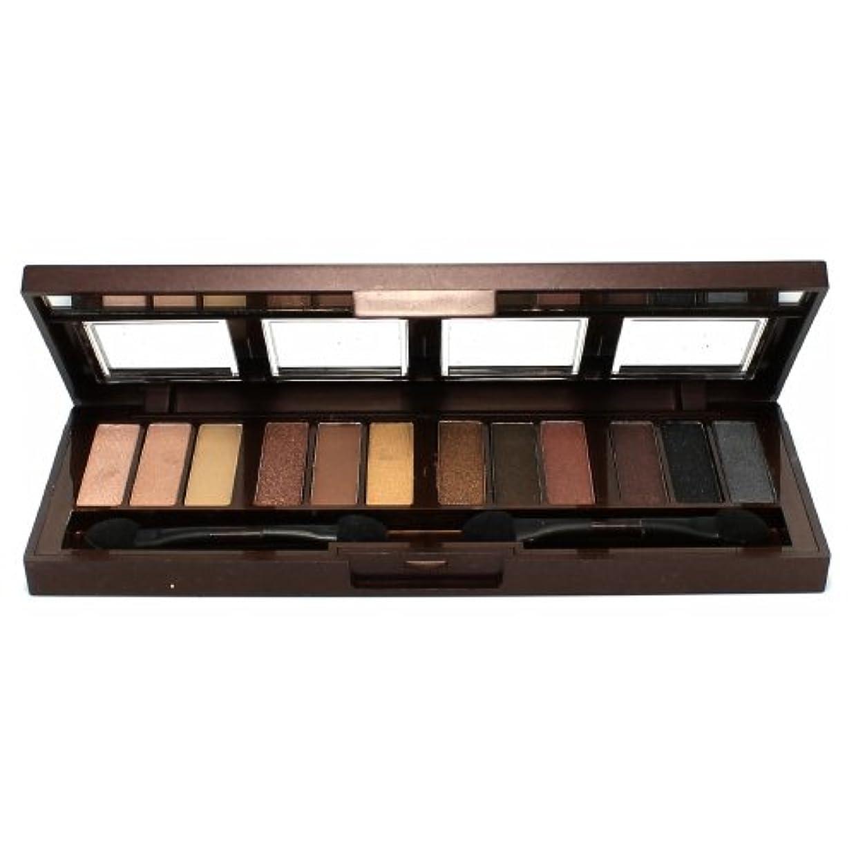 添加剤入場料セクションCITY COLOR Barely Exposed Eye Shadow Palette - Day/Night 12 Colors (並行輸入品)