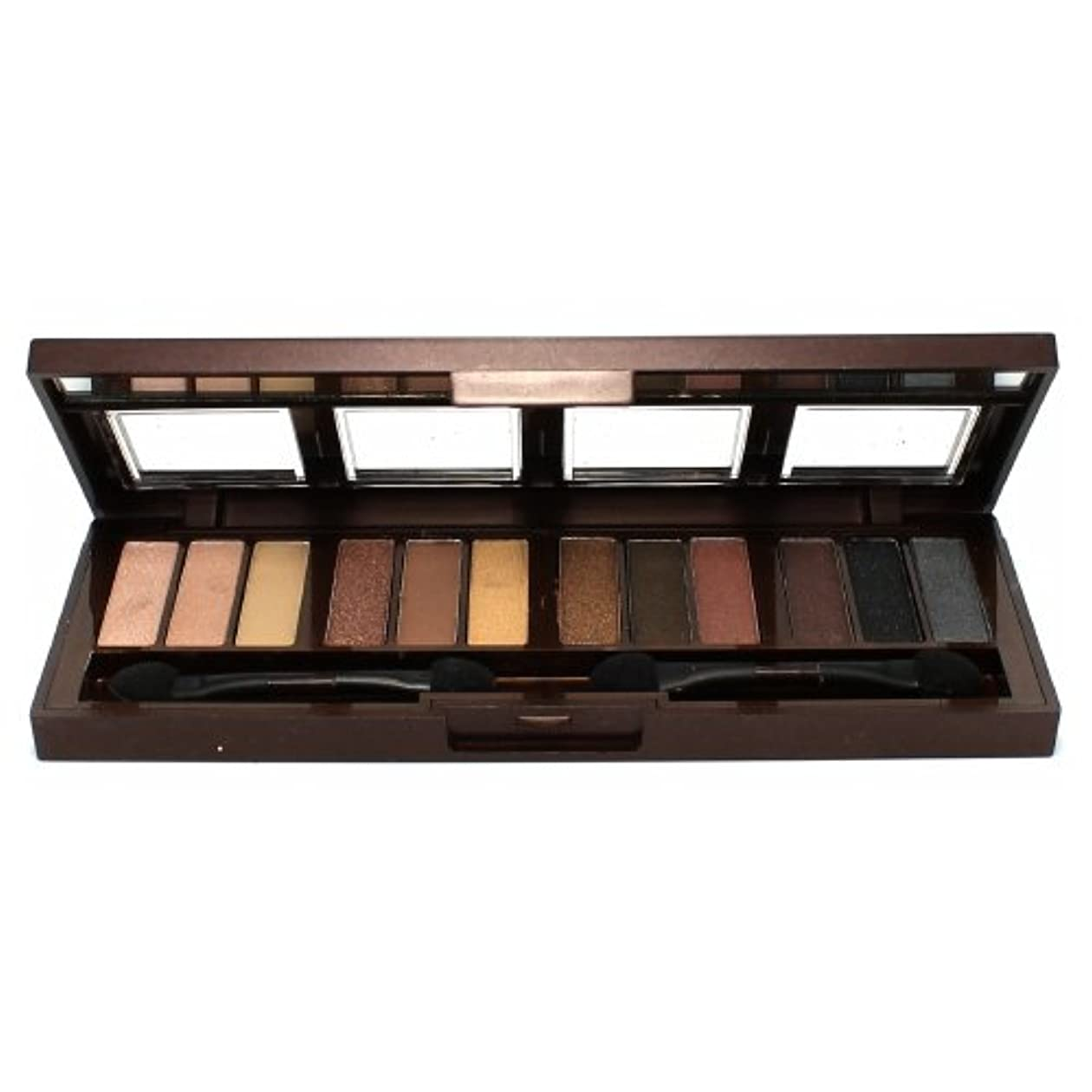 CITY COLOR Barely Exposed Eye Shadow Palette - Day/Night 12 Colors (並行輸入品)
