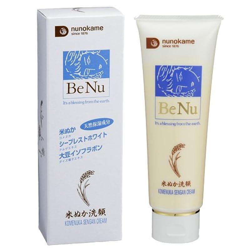 窒素予言するテメリティビヌー 米ぬか洗顔クリーム 105g